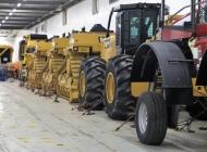 A few tractors
