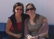Marilyn & Rachel on the Ferry